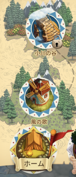 クロンダイクの冒険マップ1