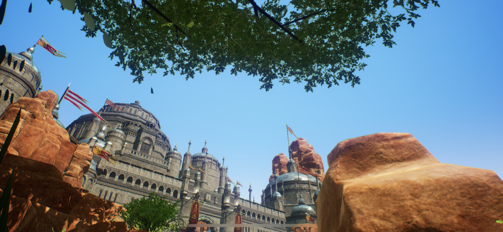 トラハ ゲーム内風景